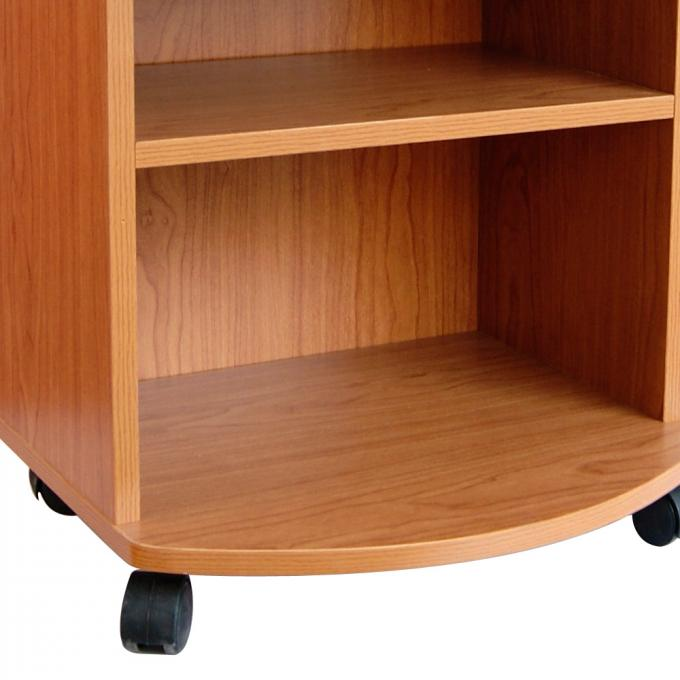 Movable Bedroom Night Stands Particle Board , Contemporary Bedside Tables For Tighter Spaces