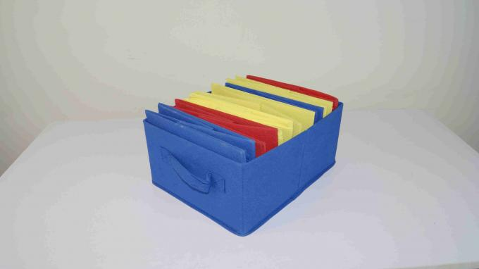 60CM Height Kids Playroom Furniture Toy Organizer With Nine Fabric Storage Bins