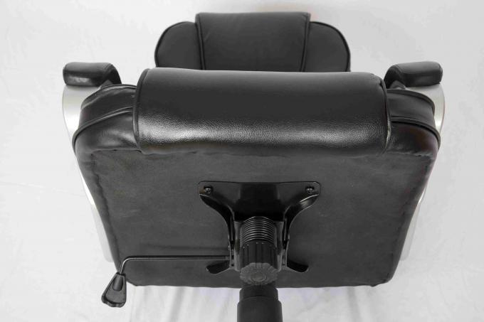 Ergonomic Black Executive Leather Office Chair Comfortable With High Back