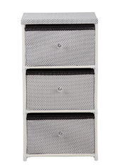 Daily Necessities Bedroom Storage Units , CE Storage Shelving Units With Fabric Drawer