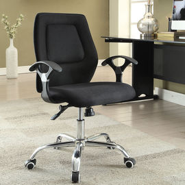 China Ergonomic Home Office Computer Chair Adjustable Height With Armrest / Wheels supplier