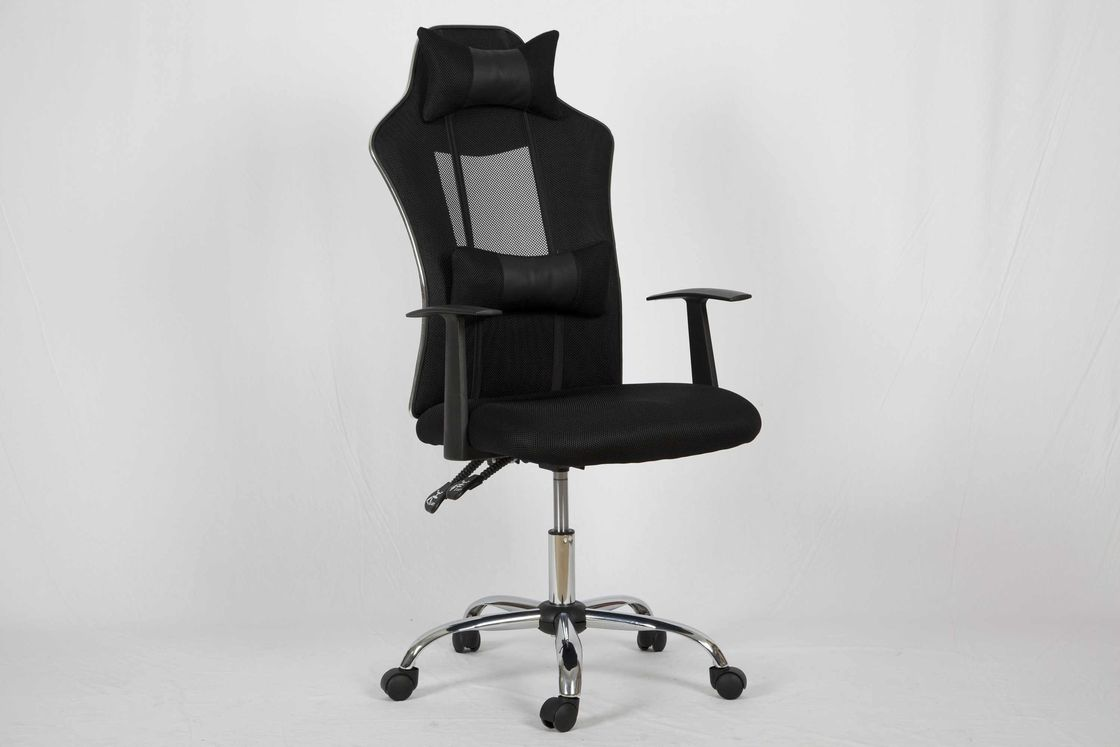 Soft Cushion High Back Office Chair Lumbar Support Recliner With Adjule Headrest