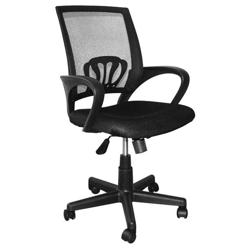 9kg Swivel Office Chairs With Wheels High Back Computer Chair Lumbar Support