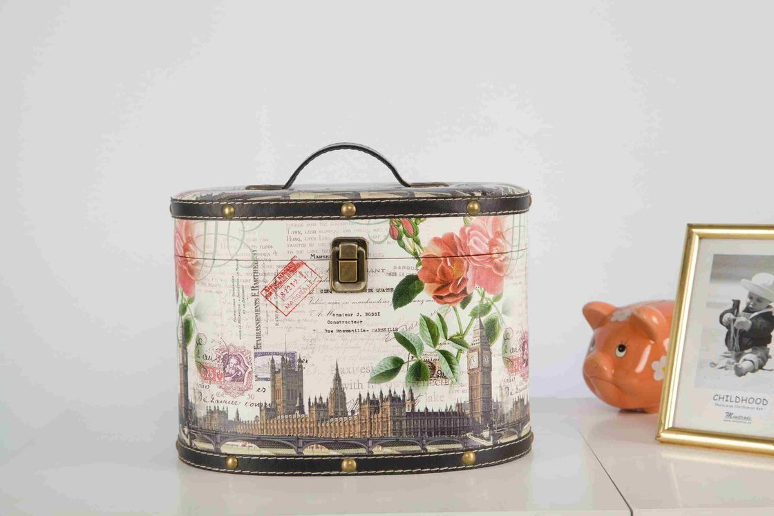 Travel Cosmetic Makeup Storage Bag Lockable Light Weight With Big Capacity